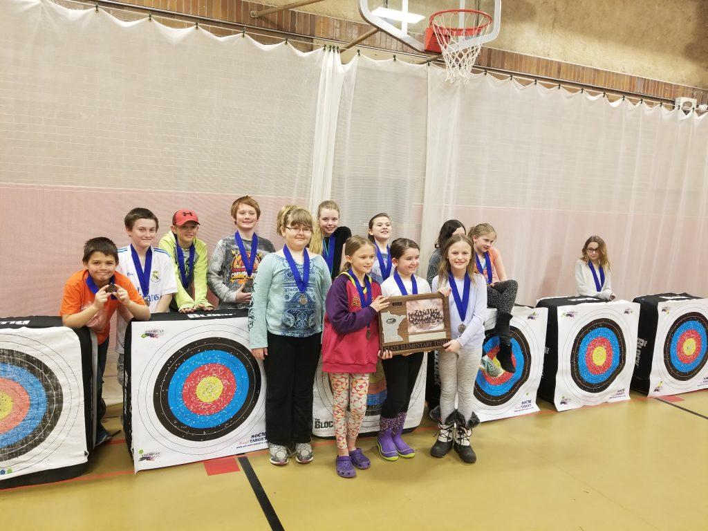 M.E. Archery Elementary Team